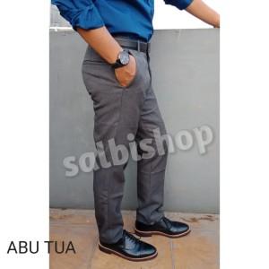 Celana panjang slimfit pria kerja modis berkualitas