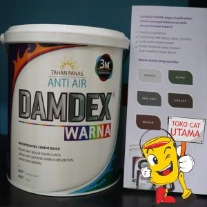 Damdex Warna Waterproofing cement based berwarna 1 ltr set