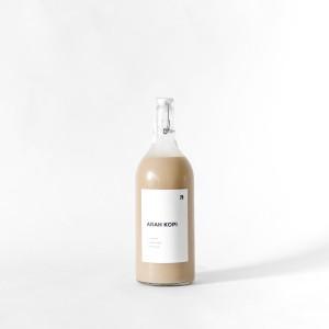 Kopi Susu 1 Liter / 1000 ml Caffe Latte by Arah Kopi - Botol Kaca