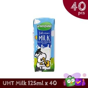 Susu Greenfields UHT Full Cream 125 ml x 40 pcs