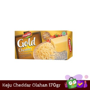 Keju Cheddar Prochiz Gold 170 gr