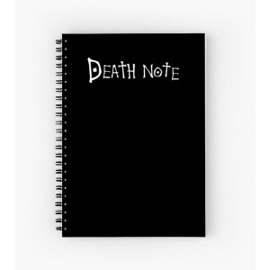 note book / buku / anime Deathnote custom ukuran a5 full colour