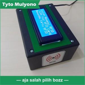Mesin ABSENSI RFID dengan Source Code PHP dan Mysql