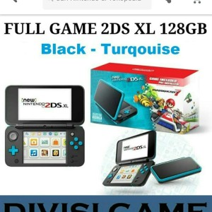 New Nintendo 2DS LL Black Lime 2DS XL Jailbrak CFW Permanent Full Game