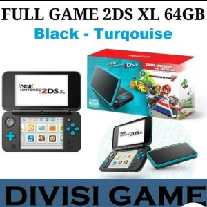 NEW NINTENDO 2DS LL XL CFW LUMA PERMANENT FREE 64 GB FULL GAME