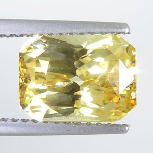 Exclusive Natural Unheated Yellow Sapphire 4.60 ct