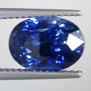 Exclusive Natural Royal Blue Sapphire 4.28 ct