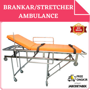 BRANKAR DORONG - BRANGKAR AMBULANCE - STRETCHER AMBULANCE