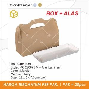 RC220875 B | Roll cake, packaging, dus, brownis box, dus, kotak