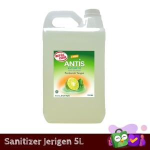 Hand Sanitizer Antis Jerigen Jeruk Nipis 5 L