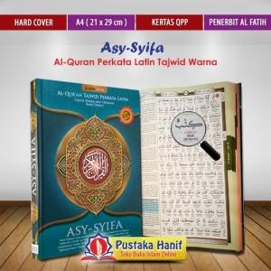 Al Quran Terjemah Perkata Asy Syifa A4 Alquran Latin Tajwid Warna
