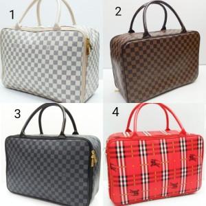 Travel bag kulit sintetis tampil Elegan Cantik, Tas Mudik, Travelbag