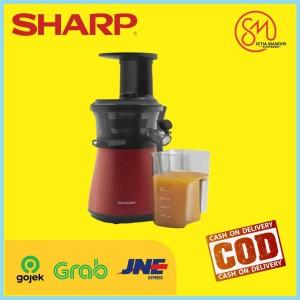 Sharp Slow Juicer EJC20YRD 0.8 Liter 150 Watt - EJ-C20Y-RD