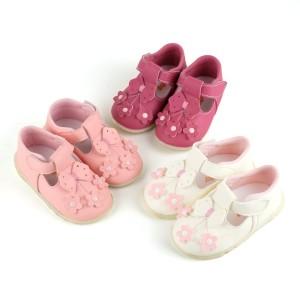 Sepatu Bayi Bunyi Perempuan Happy Baby PCB-809 WP