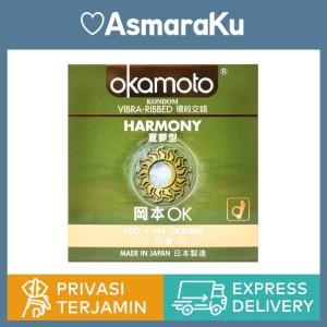 Okamoto Kondom Harmony isi 3 - Kondom Bergerigi | Kondom Jepang