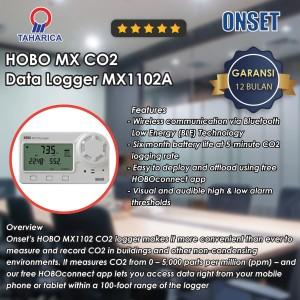 HOBO MX CO2 Data Logger MX1102A | Data Logger Suhu dan Co2