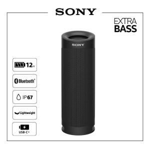 SONY SRS-XB23 Black Portable Bluetoth Party Speaker / SRS XB23