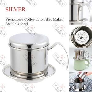 Coffee Dripper Vietnam Drip Mirip Edelmann Model Sekrup Saringan Kopi