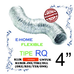 "Flexible Duct 4"" GOOD QUALITY 5M"