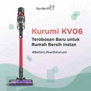 KURUMI KV06 POWERFULL CORDLESS STICK VACUUM CLEANER / PENYEDOT DEBU
