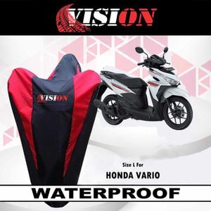 Sarung Motor VARIO Nmax Beat Mio / Cover Penutup Motor Merk VISION