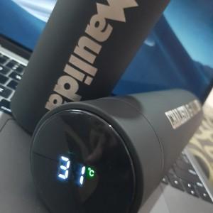 CUSTOM TUMBLER H220 LED SUHU, SMART TUMBLER GRATIS GRAFIR