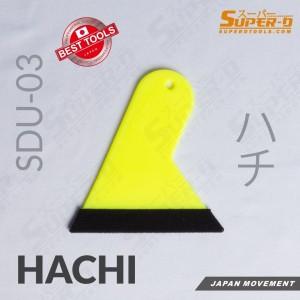 Squeegee Rakel Kape Kecil Plastik Super-D Beludru Kain Alat Sticker