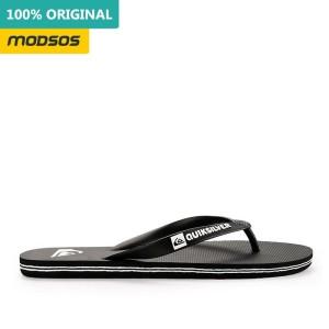 Sandal Jepit Quiksilver Pria Moloka Black Original