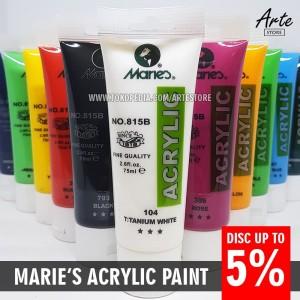 Cat Acrylic MARIES 75ml (Semua Warna)