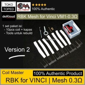 Coil Master RBK for Vincii PNP-VM1 Mesh Coil 0.3Ω NI80 | Rebuild Kit
