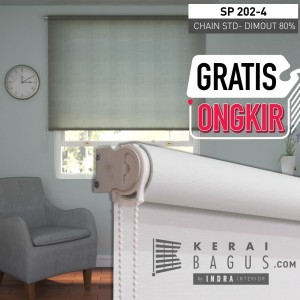 Roller Blinds Chain STD Dimout ( Blok 80%) -