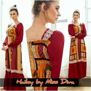 maxi dress arab/india/dubai/turki MISS DIVA HAILEY daster busui smok