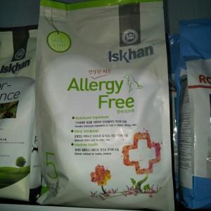 Iskhan dog allergy free 1.2 kg