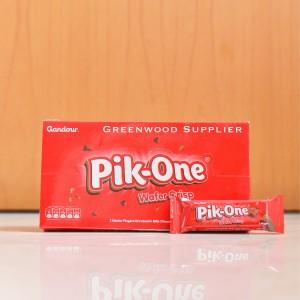 Pik One Chocolate Wafer Crisp - 1 Box (24 Pcs - PREMIUM TASTE)