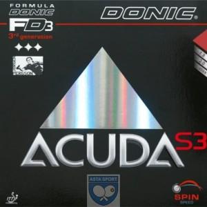 Donic Acuda S3 / karet bet pingpong