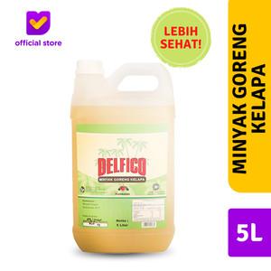 Minyak Goreng Kelapa DELFICO - 5L