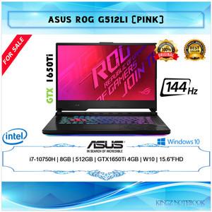 Laptop Asus ROG G512LI i7-10750H 8GB 512GB GTX1650Ti 4GB W10 15.6 FHD