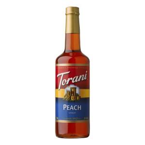 Syrup Torani Peach 750 ml