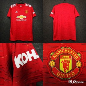 JERSEY BOLA MEN.U HOME NEW 2020-2021 GRADE ORI IMPORT