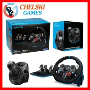 LOGITECH G29 DRIVING FORCE WHEEL + SHIFTER LOGITECH FOR PS4/PS3/PC