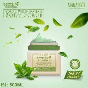 Makarizo Professional Texture Experience Body Scrub Green Tea 500mL