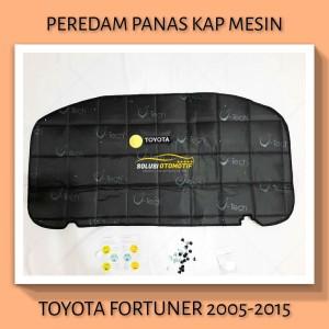 TOYOTA FORTUNER 2005-2015 Peredam Panas Kap Mesin Mobil V-Tech Hitam