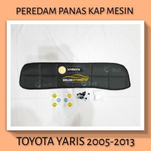 TOYOTA YARIS 2005-2013 Peredam Panas Kap Mesin Mobil V-Tech Hitam