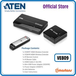 Aten VE809 - HDMI Wireless Extender. 480p, 720p, 1080p