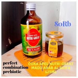 Paket COMBINATION PREBIOTIC Khalizha Herbal Paket cuka apel dan Madu