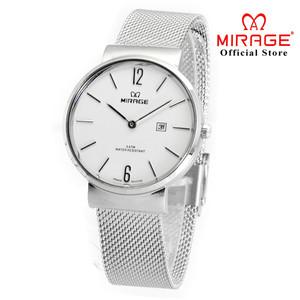 TERBARU Jam tangan Wanita MIRAGE PASIR DW 8624 Silver pP