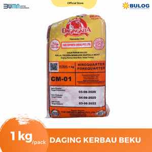 Daging KITA - Daging Kerbau Frozen 1kg