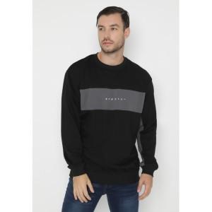 PREORDER - RYUSEI Sweater Pria Swt Men Hisoka CMB Black