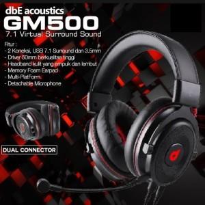 dbE Acoustics GM500 High End Gaming Headphone