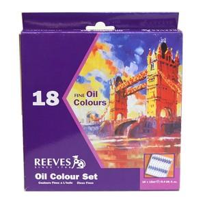 Reeves 18 Oil Color Set